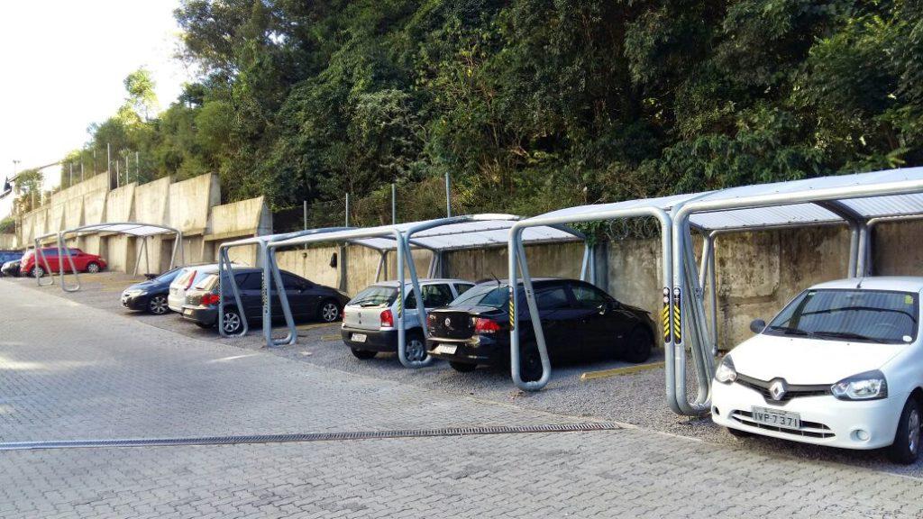 Garagem Dupla para carros e motos
