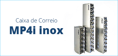 Caixa de Correio modelo: MP 4i Inox